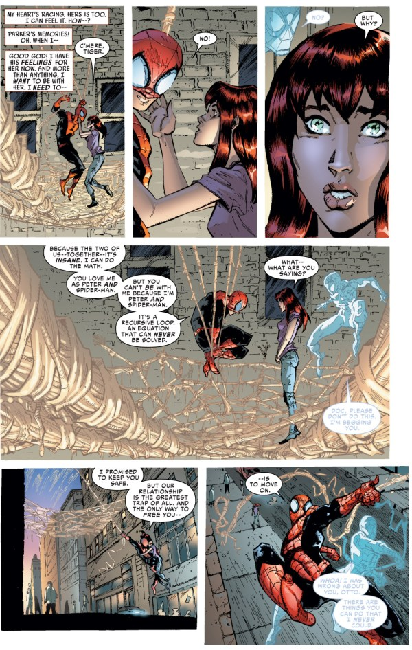 superior spider-man breaks up with mary jane