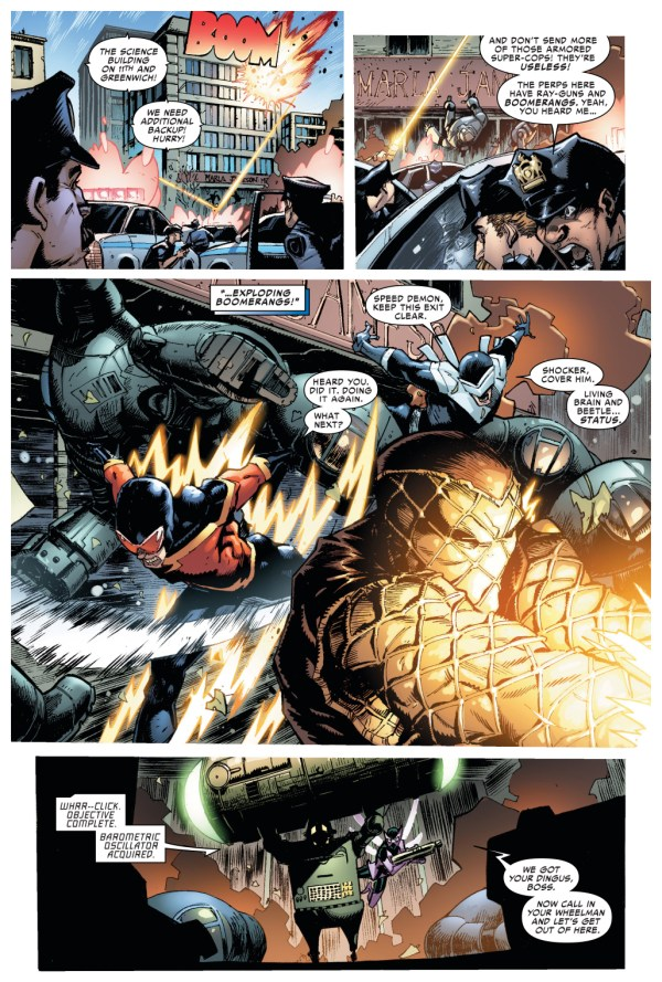 superior spider-man vs the sinister six