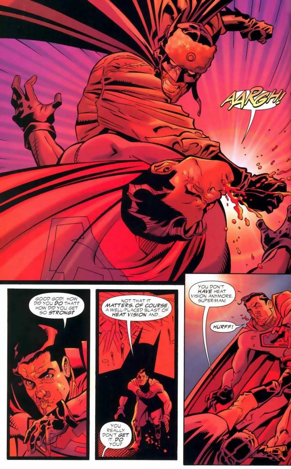 batman vs superman (red son)