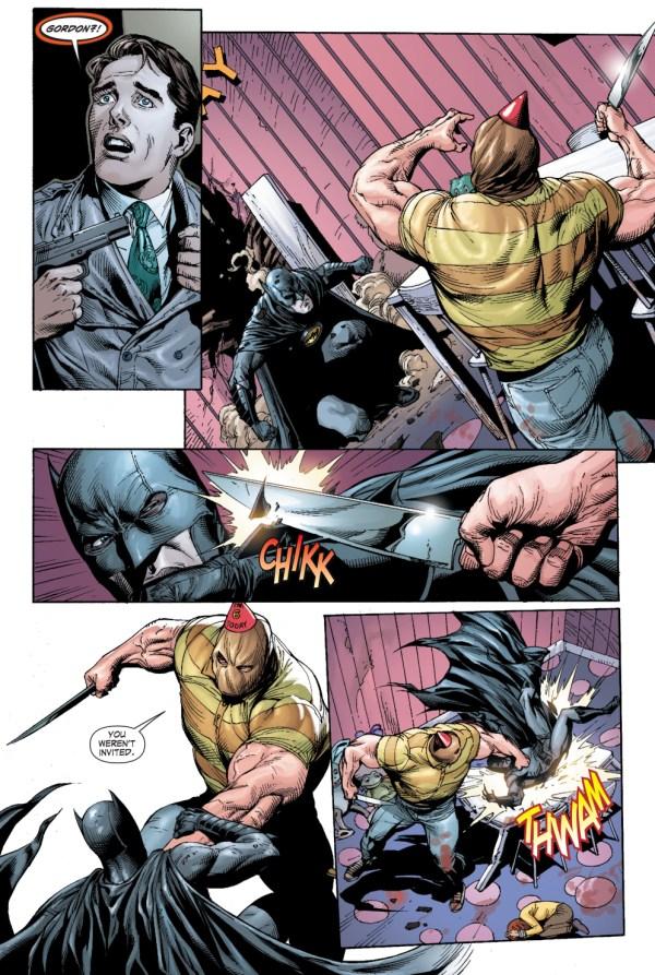 batman rescues barbara gordon