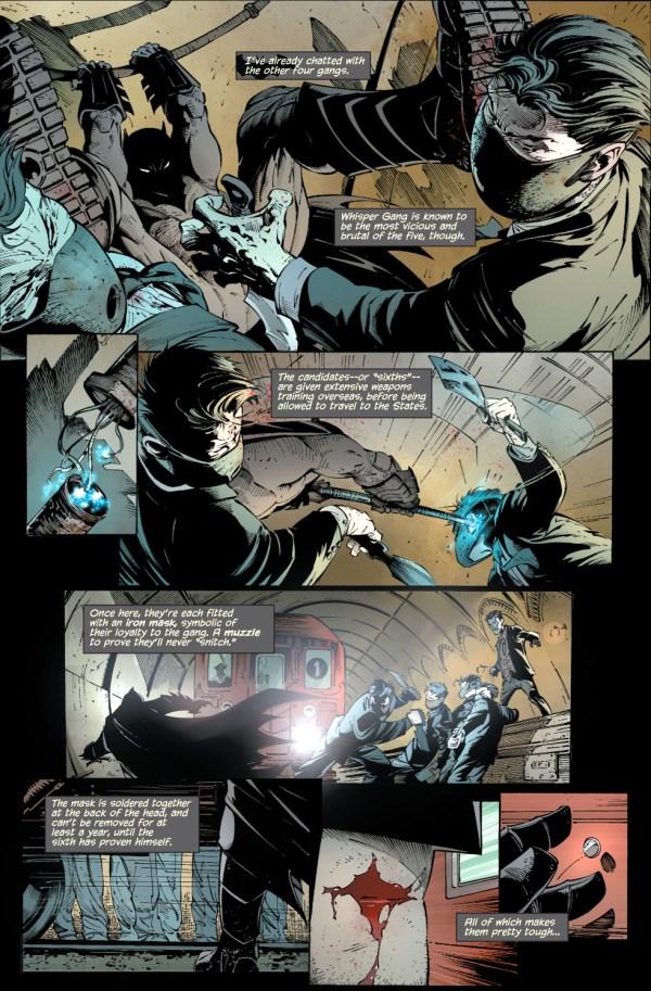 batman vs the whisper gang