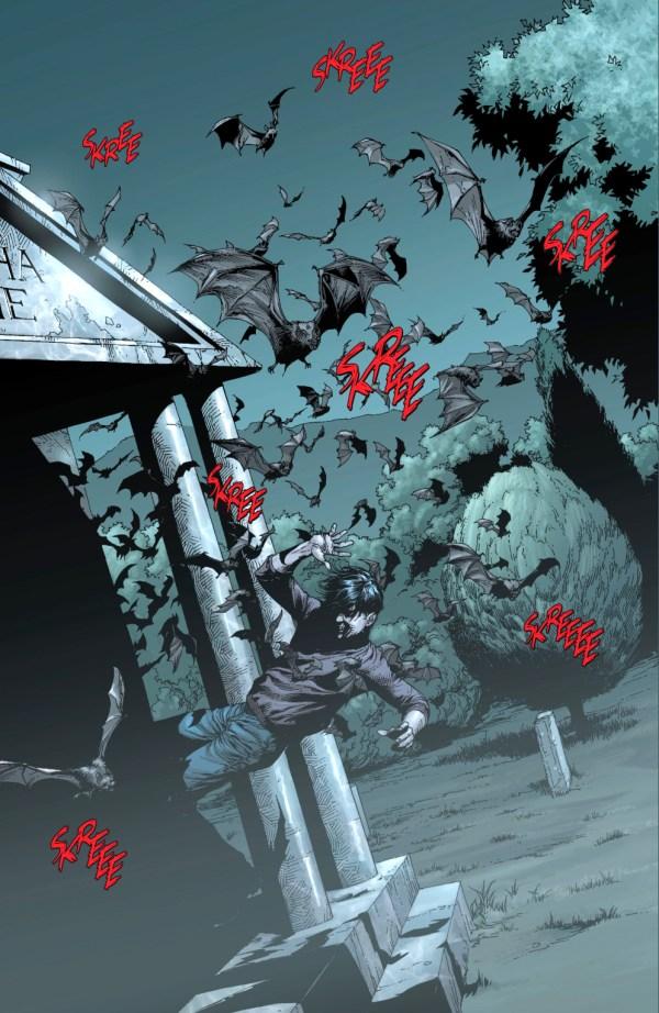 how bruce chose the bat as a symbol (earth 1)