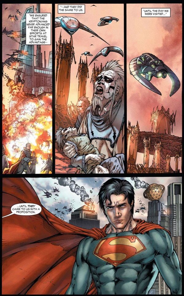 how krypton was destroyed (earth 1)