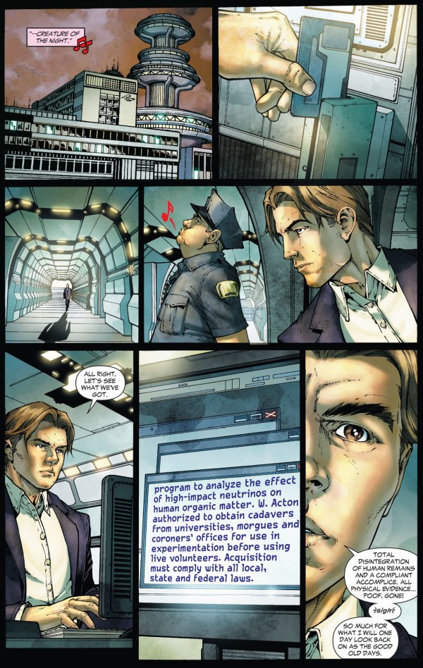 how raymond jensen became the parasite (earth 1)