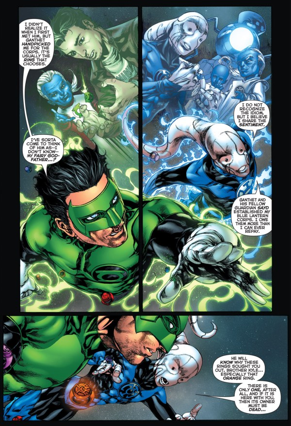 kyle rayner and saint walker reminisce about ganthet