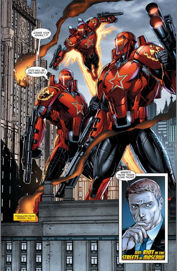 rocket red (new 52)