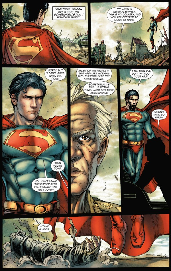 superman faces off with a dictator (earth 1)
