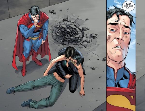 superman lets bruce wayne escape