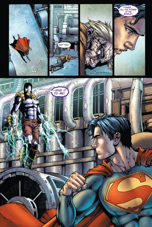 superman vs the parasite (earth 1)
