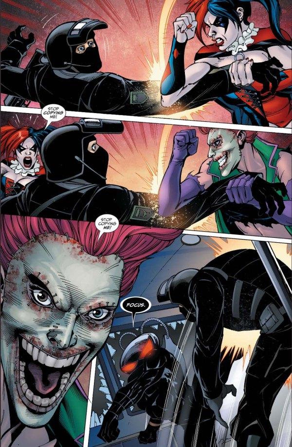 the joker's daughter copies harley quinn