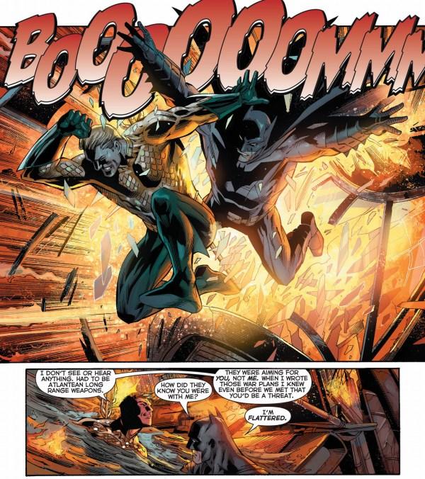 aquaman flatters batman