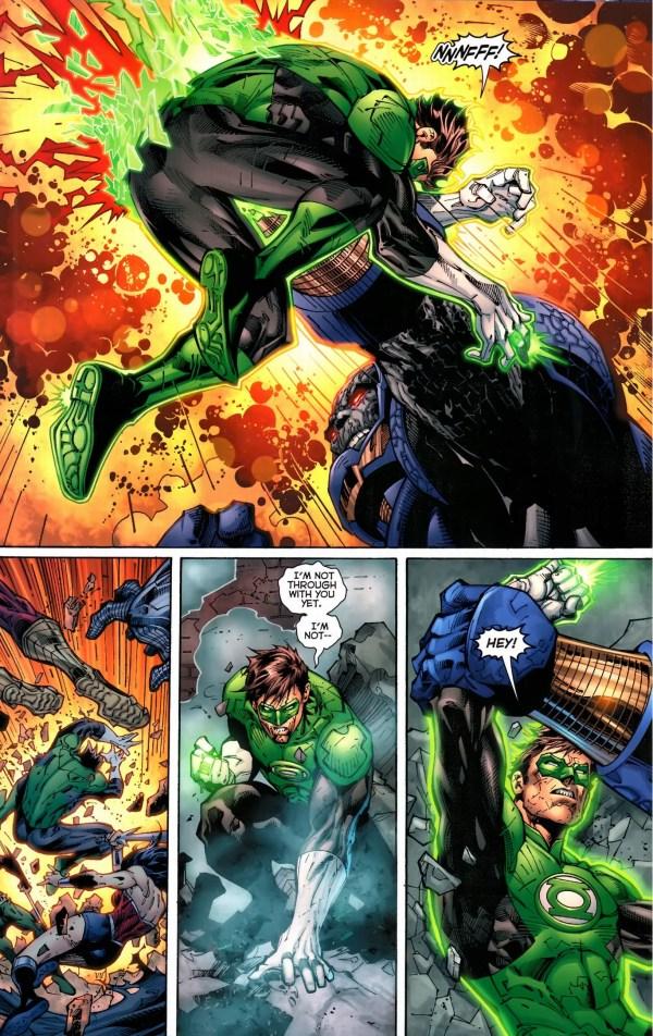 green lantern vs darkseid