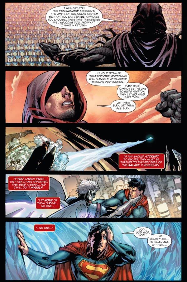 how zod destroyed krypton