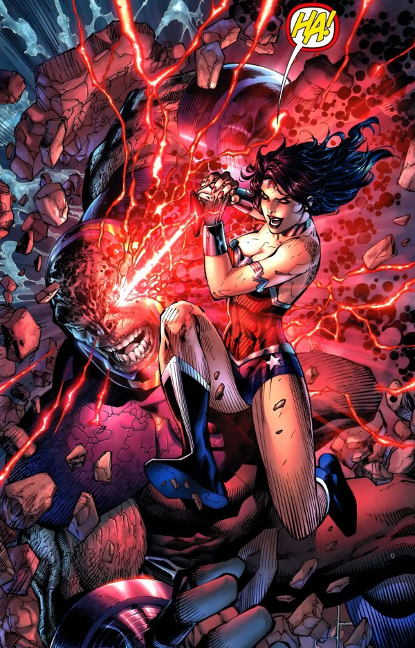 wonder woman and aquaman blinds darkseid