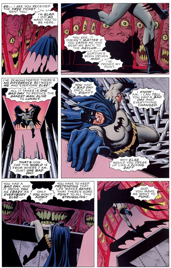 batman vs the joker (killing joke)