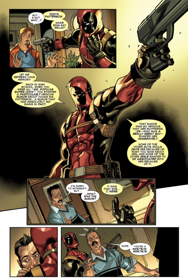 deadpool kills a has-been jock