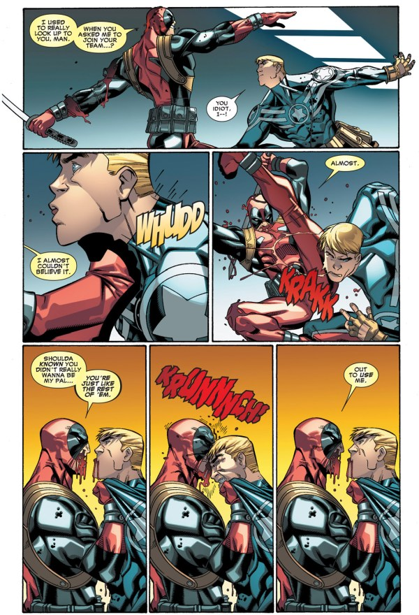 deadpool vs captain america clone