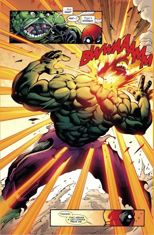 deadpool vs the hulk 2