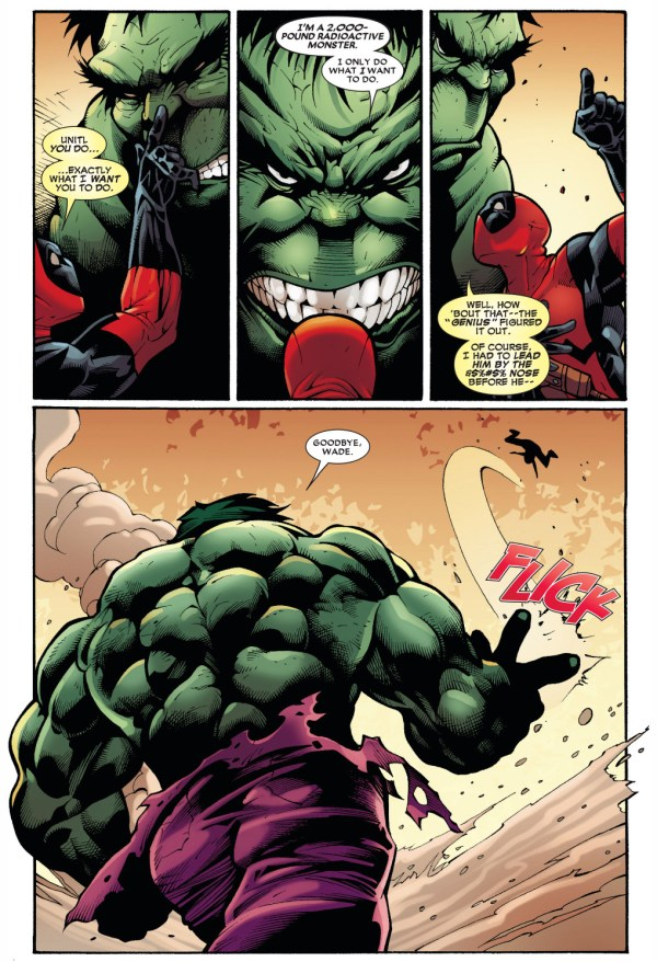deadpool vs the hulk 4