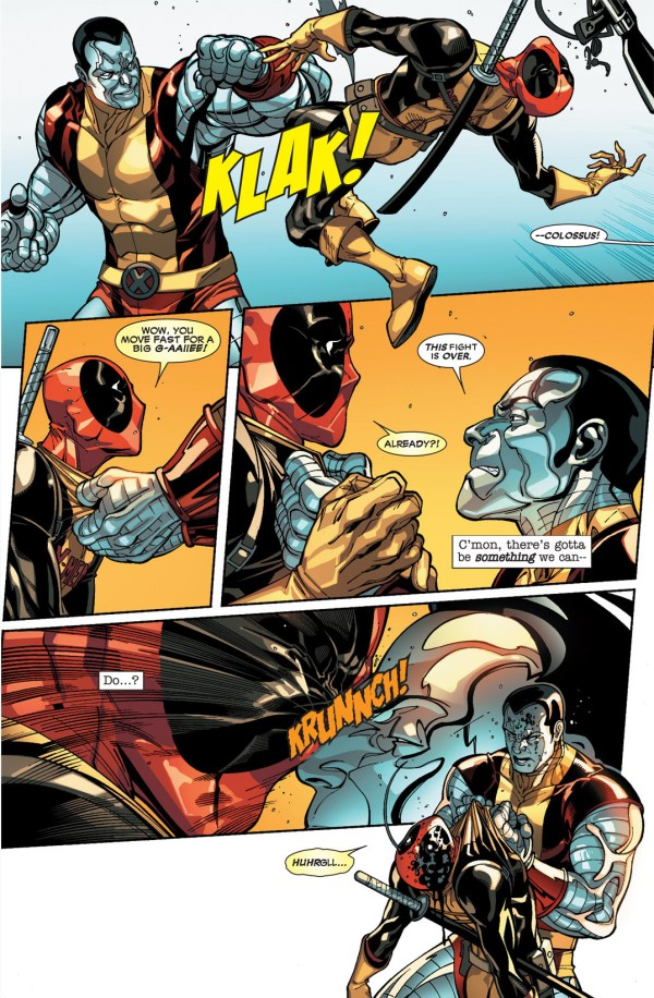 deadpool vs the x-men
