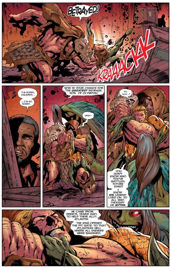 How Hercules was betrayed