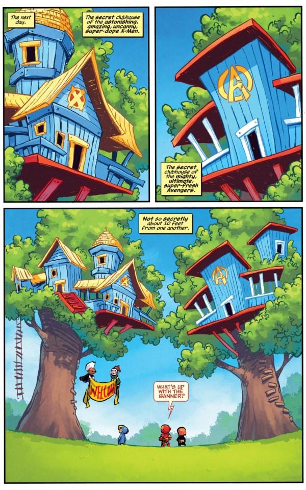 little avx treehouse war