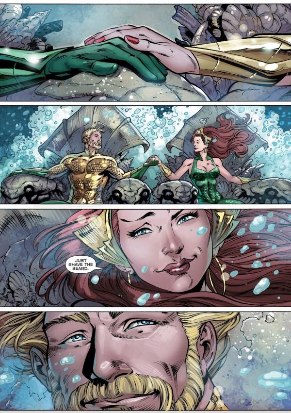mera becomes aquaman's queen