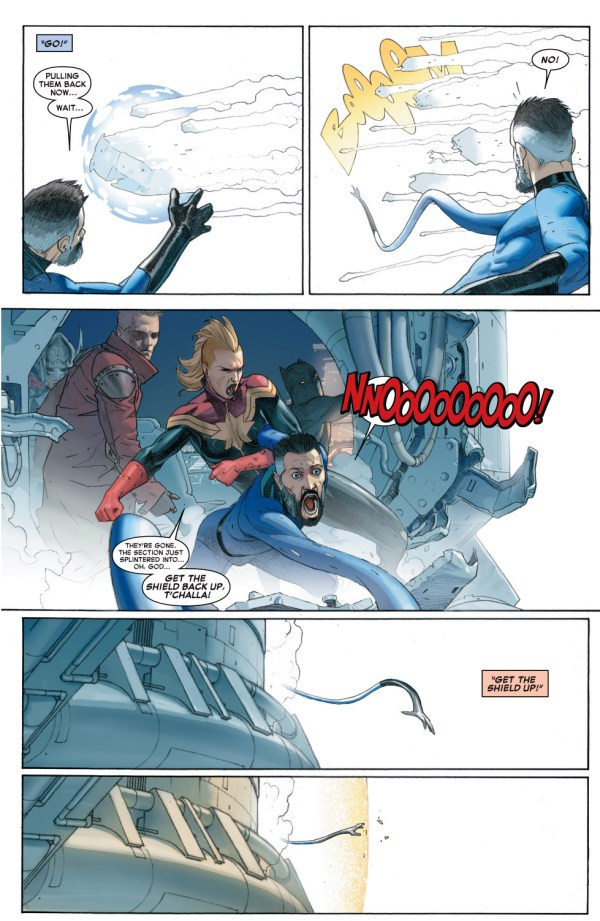 mister fantastic loses his family