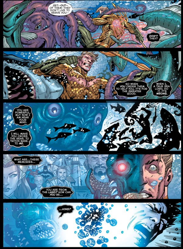 the chimera attacks aquaman