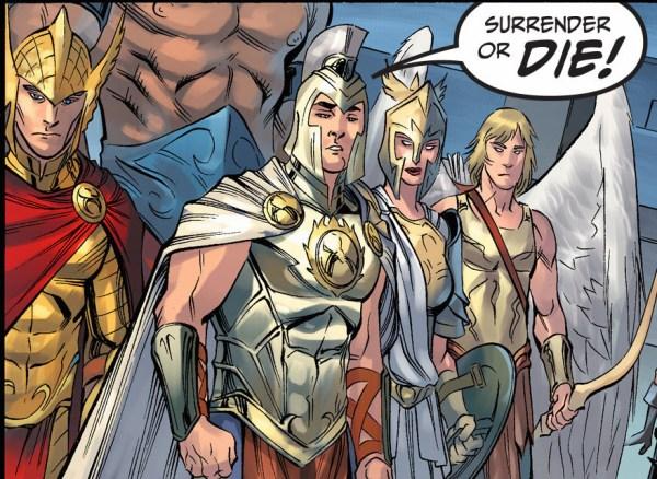the gods of olympus (injustice gods among us)