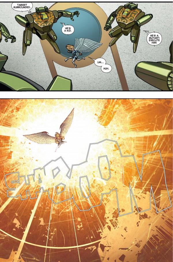 angel and original 5 angel vs madame hydra and hydra