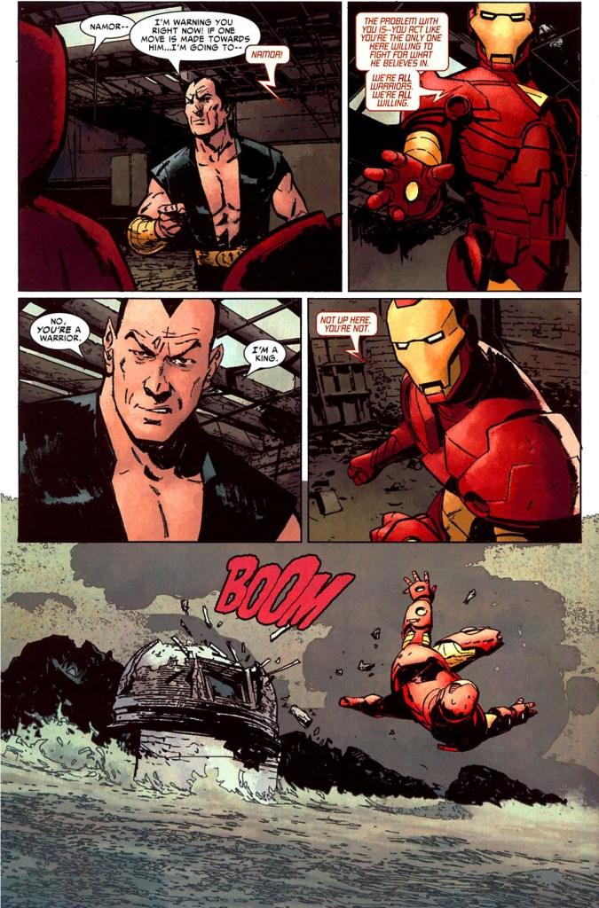 namor vs iron man