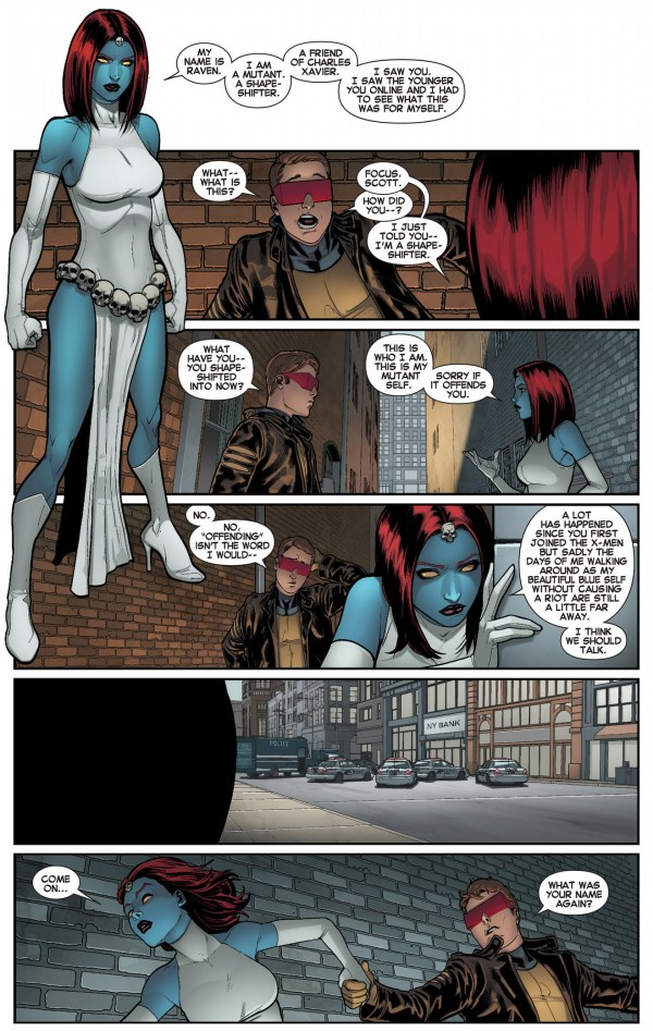 original 5 cyclops meets mystique
