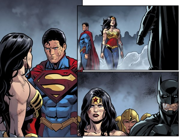 zeus forces superman to stand down