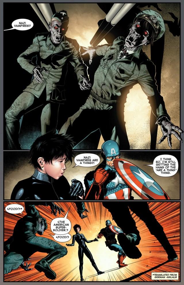 captain america and jubilee vs nazi vampires