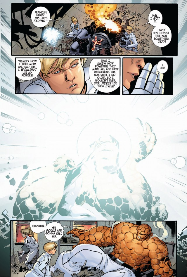 franklin richards saves the thing