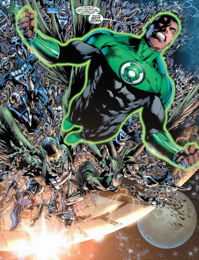 green lantern john stewart (blackest night)