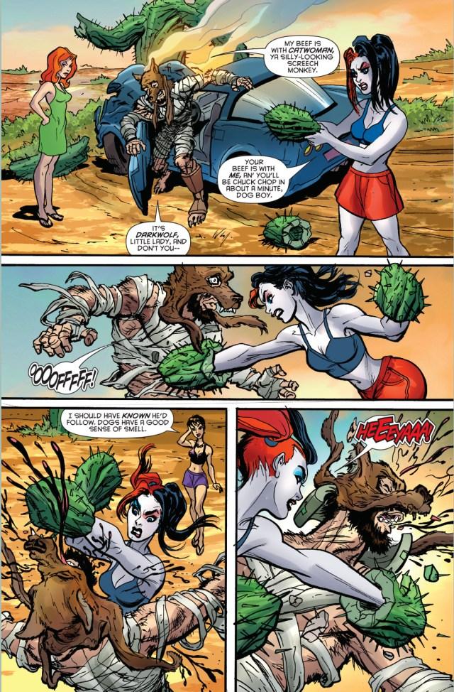 harley quinn vs darkwolf