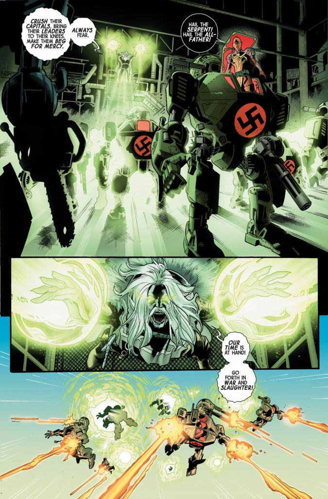 the serpent's nazi robot army