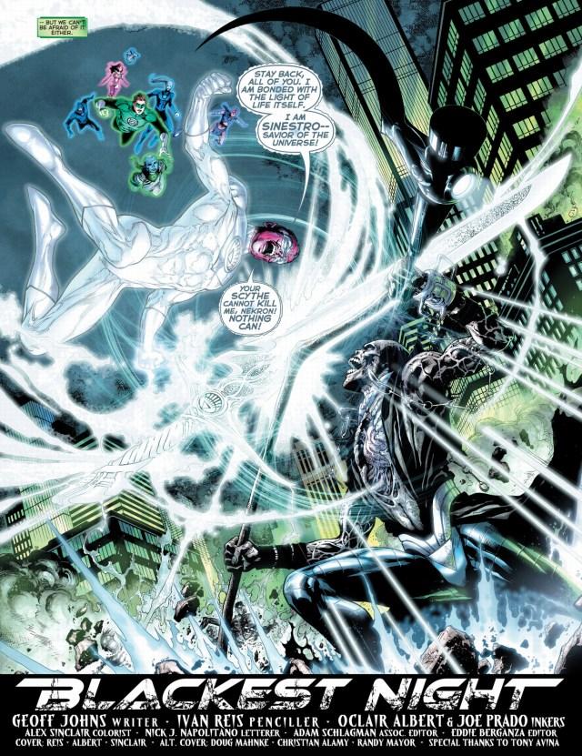 white lantern sinestro vs nekron