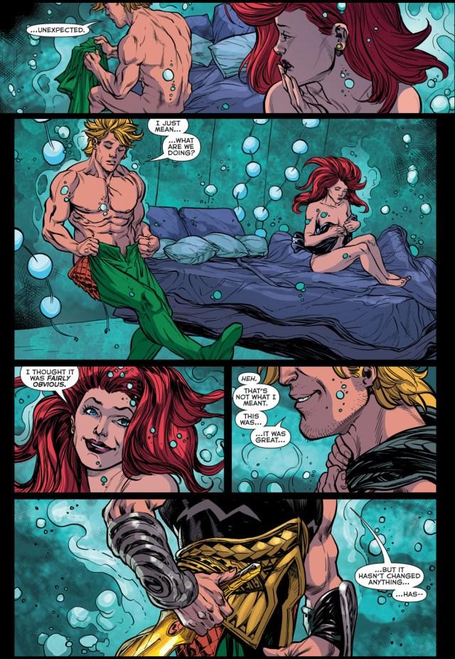 aquaman sleeps with siren