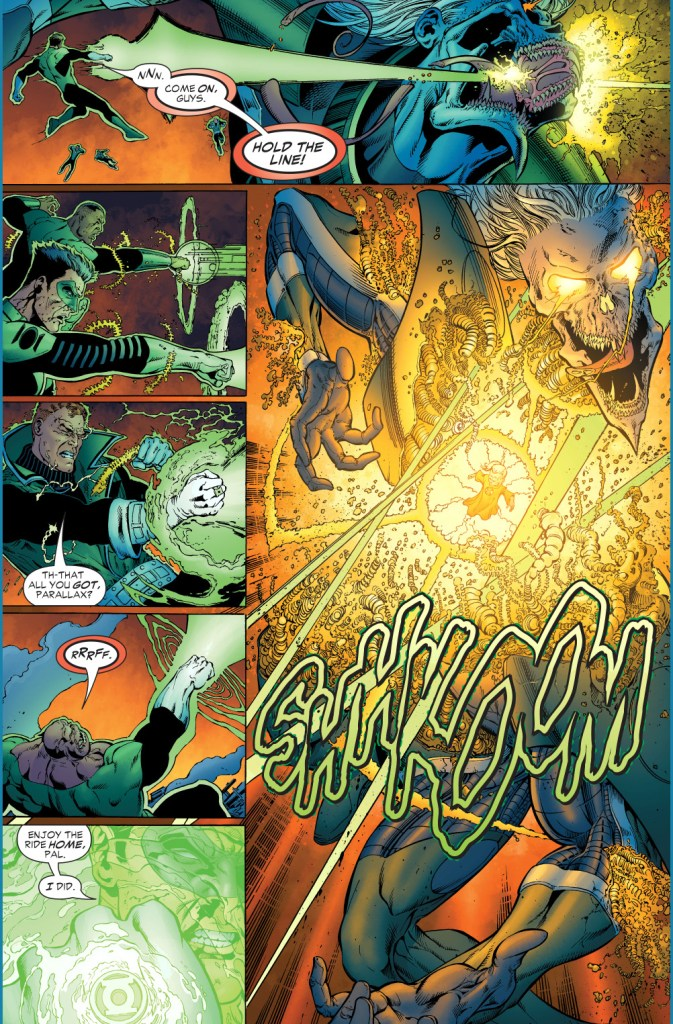 green lanterns vs ganthet-parallax 4