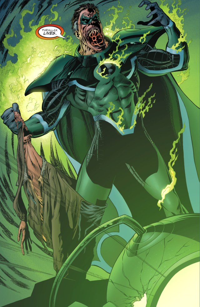 hal jordan possessed by parallax