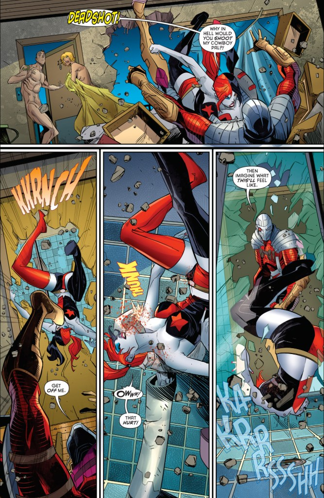 harley quinn vs deadshot