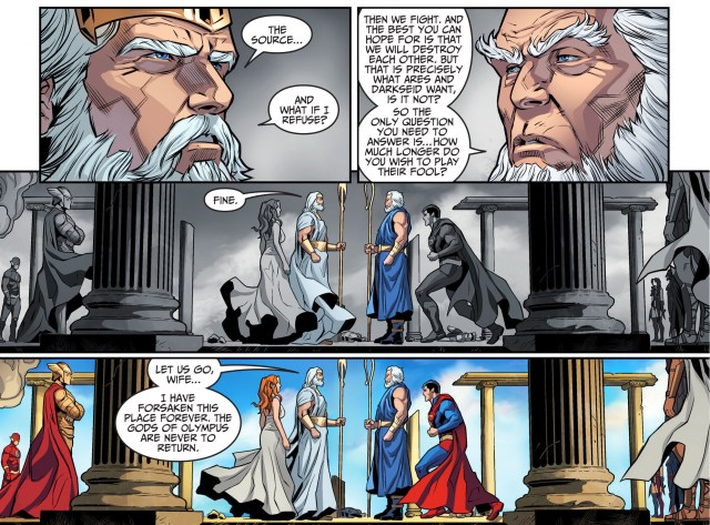 highfather faces off with zeus