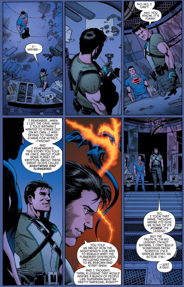 how dick grayson chose the nightwing alias (new 52)