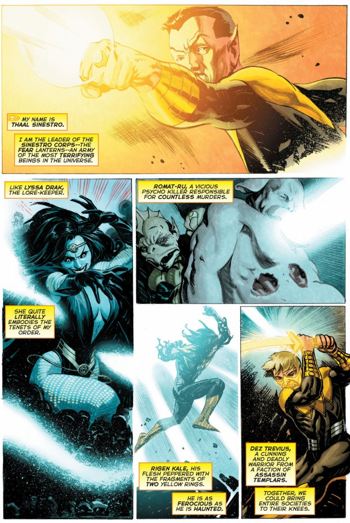 new members of the sinestro corps