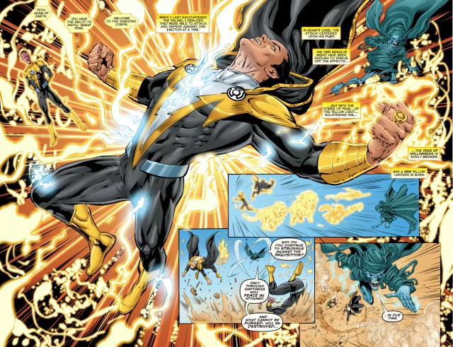 black adam joins the sinestro corps