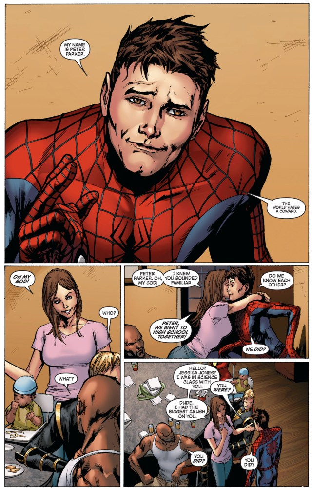 jessica jones loved peter parker