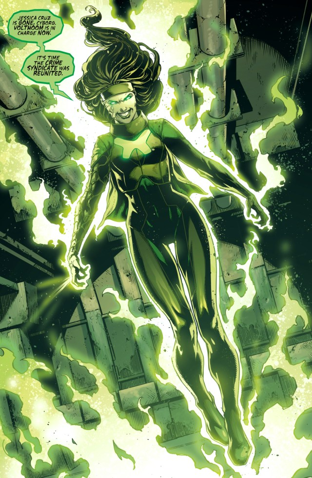 volthoom takes over power ring
